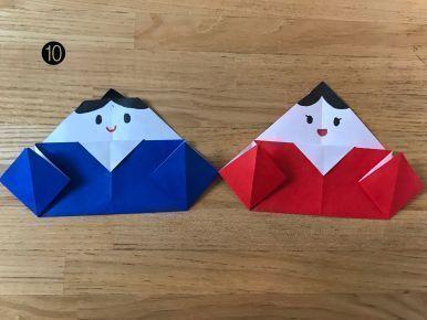 【年中〜年少向き】折り紙のおひなさま(春:3月の製作アイデア)
