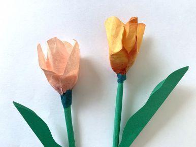 チューリップ(春:3月の製作アイデア)